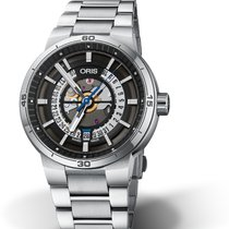 Oris Steel 42mmmm Automatic 01 733 7752 4124-07 8 24 08 new United States of America, Georgia