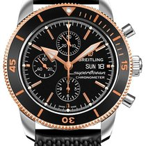 Breitling Superocean Héritage II Chronographe Gold/Steel 44mm Black United States of America, Florida, Boca Raton