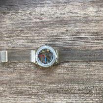 Swatch 34mm Quarz 1985 gebraucht