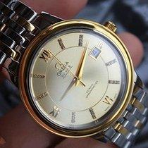 Omega De Ville Prestige używany 36.8mm Złoto/Stal