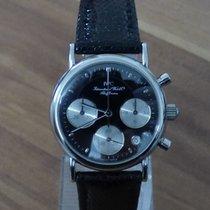 IWC Portofino Chronograph Steel 29mm Black No numerals