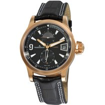 Jaeger-LeCoultre Yellow gold Automatic Black new Master Compressor GMT