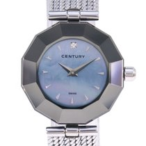 Century Steel Quartz Blue 24mm pre-owned