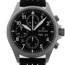 Damasko DC 56 Acier 40mm Noir Arabes