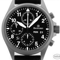 Damasko DC 56 Steel 40mm Black Arabic numerals