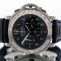Panerai Luminor Chrono Steel 44mm Black Arabic numerals United Kingdom, Essex