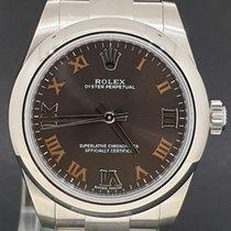 Rolex Oyster Perpetual 31 Acél 31mm Szürke Római