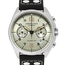 Hamilton Khaki Pilot Pioneer new Automatic Chronograph Watch with original box and original papers H76416755
