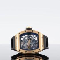 Richard Mille RM 035 Oro rosado 42mm Transparente Sin cifras