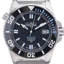 Davosa Argonautic Lumis Steel 42mm Black