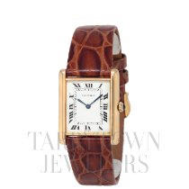 Cartier Tank Louis Cartier Yellow gold 24mm White Roman numerals United States of America, New York, Hartsdale