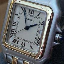 Cartier Gold/Steel 29mm Quartz Panthère pre-owned