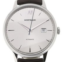 Montblanc Steel 41mm Automatic 111580 new