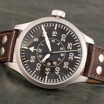 Aristo Navigator Steel 47mm Black Arabic numerals