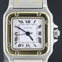 Cartier Santos Galbee Automatic 24MM Gold/Steel W/Box MINT