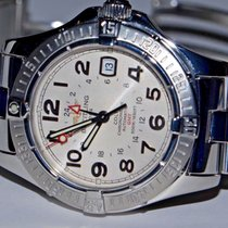 Breitling A32350 Steel Colt GMT 40mm pre-owned United States of America, New York, Greenvale