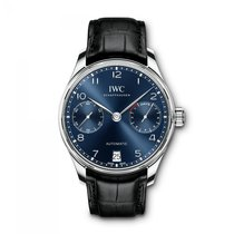 IWC Portugieser Automatic  Blue Dial IW500710 Mens WATCH