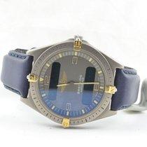 Breitling Aerospace Herren Uhr Titan/gold 40mm 80360 Vintage...