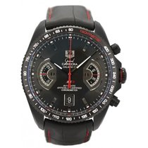 TAG Heuer Titane Chronographe Remontage automatique 43mm 2009 Grand Carrera