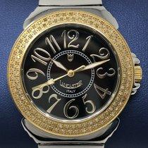 Lancaster Italy Pillo Diamond 0.86ct Ladies Watch 38 mm gold tone