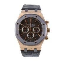 Audemars Piguet nieuw 2014 Automatisch Chronograaf Horloge met originele doos en originele papieren 26325OL.OO.D005CR.01