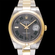 Rolex Datejust Yellow gold 41.00mm Grey United States of America, California, San Mateo