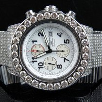 Breitling Steel Automatic 53mm pre-owned Super Avenger