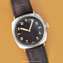 Panerai White gold Manual winding 47mm pre-owned