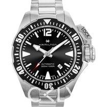 Hamilton Khaki Navy Frogman H77605135 nouveau