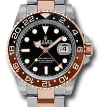 Rolex GMT-Master II Gold/Steel 40mm Black United States of America, New York, New York