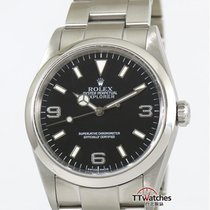 Rolex Explorer 114270 Box Papers Serviced K Series Taiwan Ad