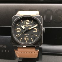 Bell & Ross BR 03-92-S Heritage PVD - Full Set