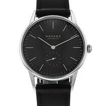 NOMOS 35mm Manual winding 2015 pre-owned Orion (Submodel) Black