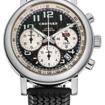 Chopard Or blanc Remontage automatique Noir 38mm occasion Mille Miglia