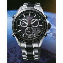 Seiko Astron GPS Solar Chronograph nieuw 44mm Staal