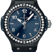 Hublot Big Bang 38 mm Ceramika 38mm Niebieski Arabskie