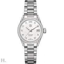 TAG Heuer Carrera Lady Steel 28mm Mother of pearl
