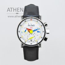 Alfred Rochat & Fils pre-owned Automatic 34mm Sapphire Glass