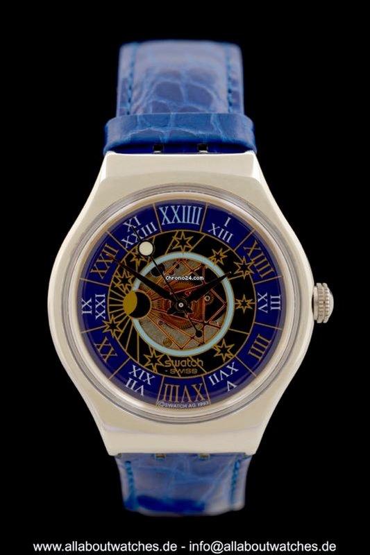 rivenditore all'ingrosso 471c7 8cc18 Swatch Tresor Magique Limited Edition - Ref. SAZ 101 - Platin - Ungetragen  - AAW