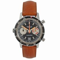 Breitling Chrono-Matic (submodel) Acero 38mm Negro Sin cifras