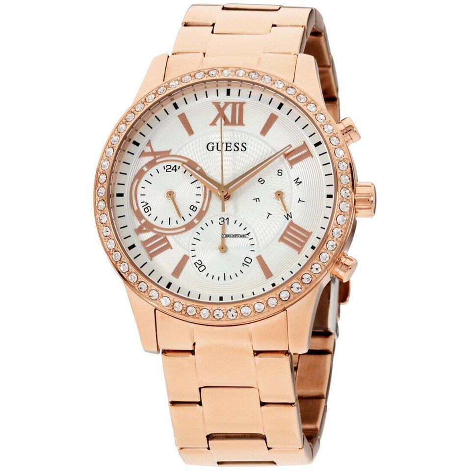 075d977f1 Ceny dámských hodinek Guess | Koupit a porovnat dámské hodinky Guess na  Chrono24