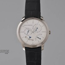 Girard Perregaux White gold Automatic Silver 40mm pre-owned 1966