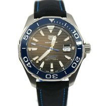 TAG Heuer Aquaracer 300M Steel 43mm Black No numerals United States of America, New York, New York
