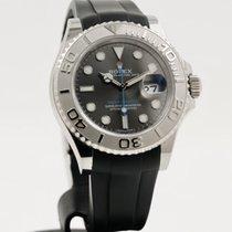 Rolex Yacht-Master 40 Aço 40mm Cinzento Sem números