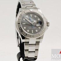 Rolex Yacht-Master 40 Steel 40mm Grey No numerals