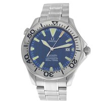 Omega Seamaster Diver 300 M Steel 41mm Blue Arabic numerals United States of America, New York, New York