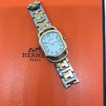 Hermès Gold/Steel Quartz Hermes Arceau Tonneau pre-owned Singapore, Singapore