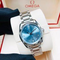 Omega Seamaster Aqua Terra Steel 28mm Blue