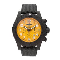 Breitling Avenger Hurricane pre-owned 50mm Yellow Chronograph Date Textile
