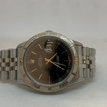 Rolex Datejust Turn-O-Graph Сталь 36mm Чёрный